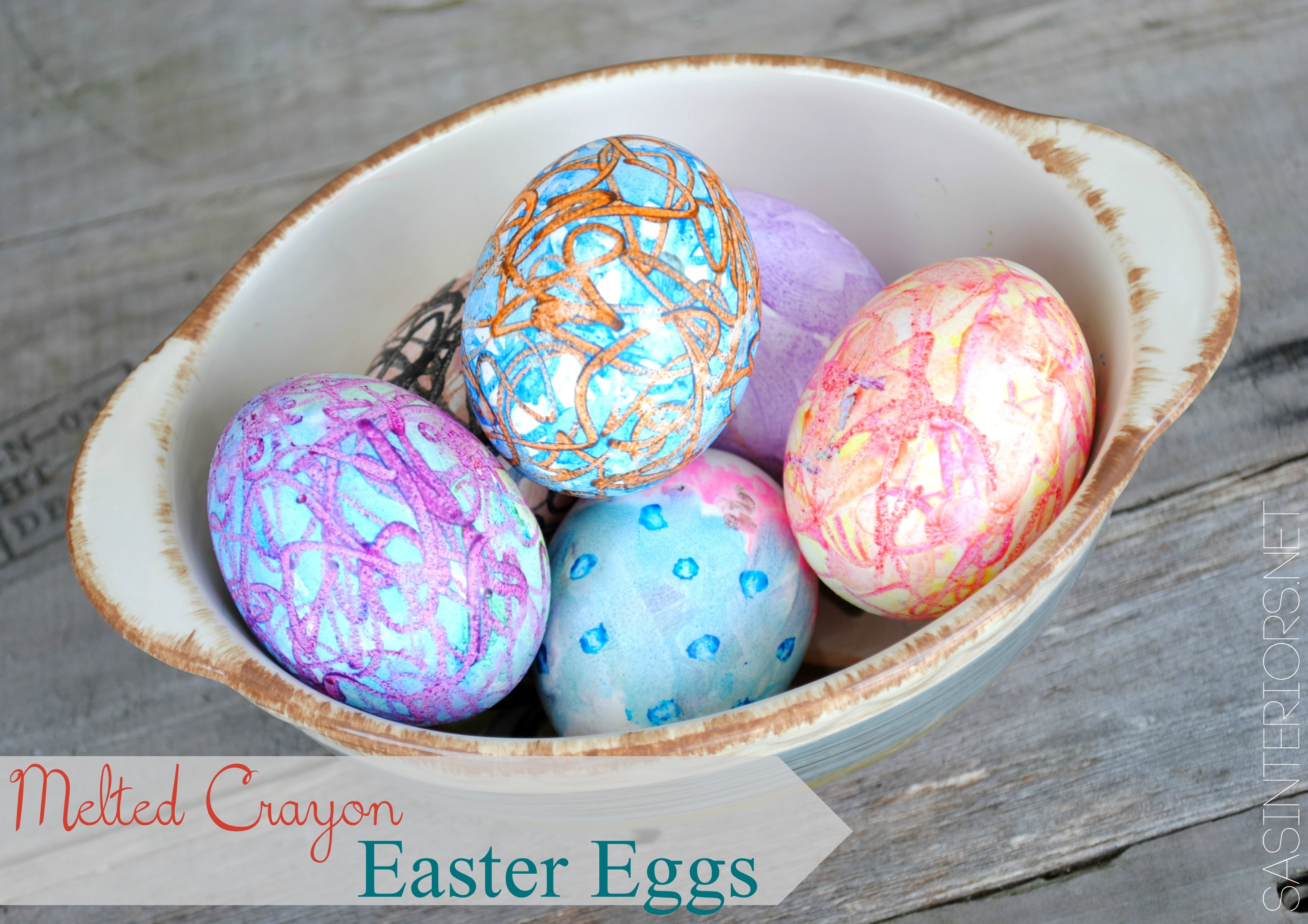 Crayon Crafts: 32 Easter Egg Designs & Ideas For Homesteaders